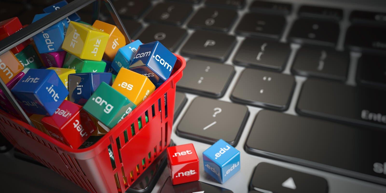 nakup domene