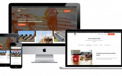 Izdelava spletne strani za fasaderstvo
